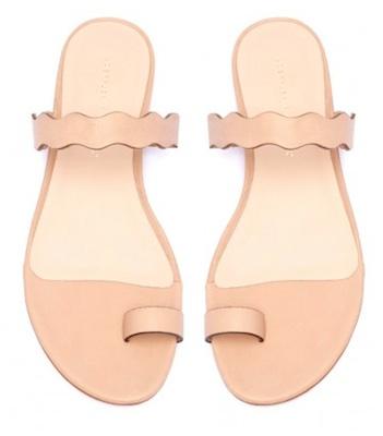Petal Slide Sandal