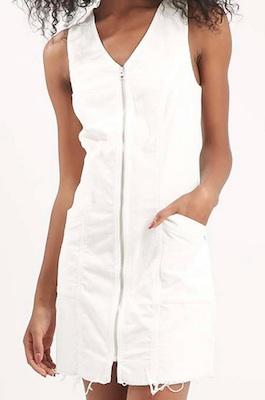 Topshop Cord Dress