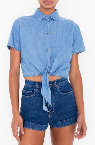 america apparel shirt
