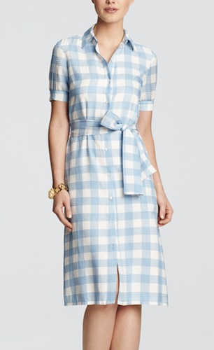 draper james plaid dress
