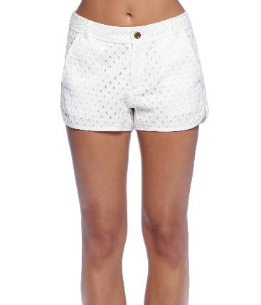 michael stars eyelet shorts