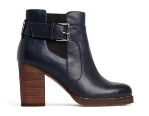A-women-s-navy-heeled-bootie