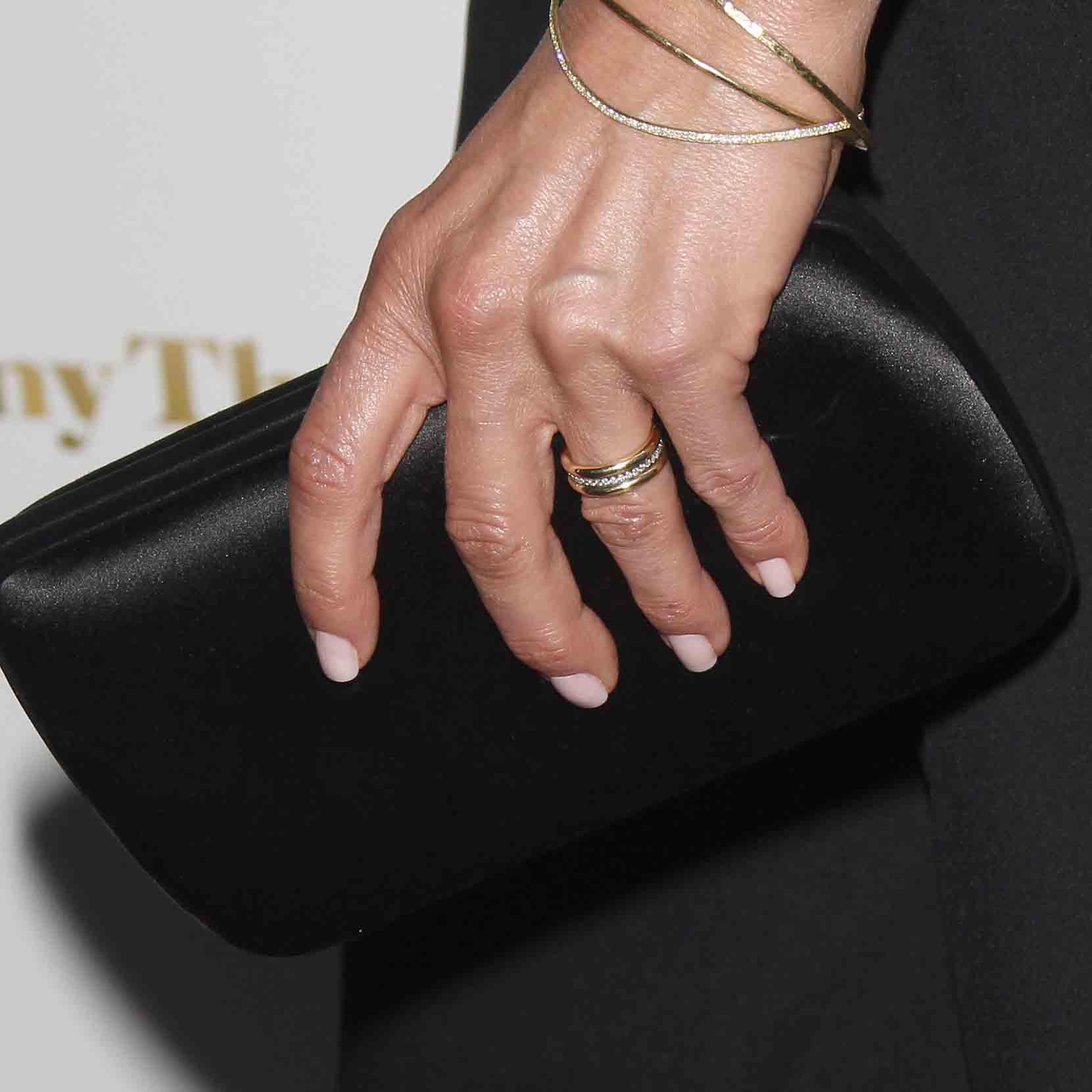 Jennifer Aniston Debuts Her Wedding Band