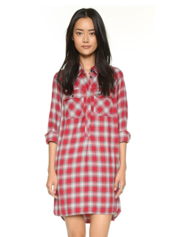 Best Plaid Dresses  Plaid Shirtdresses