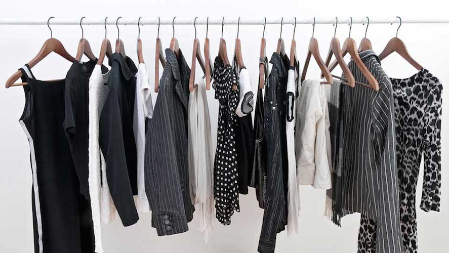 how to hang clothes without a closet