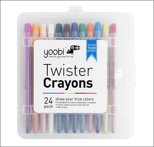 yoobi twister crayons