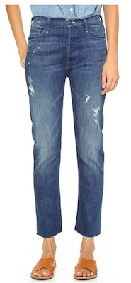 MOTHER Frayed Jeans