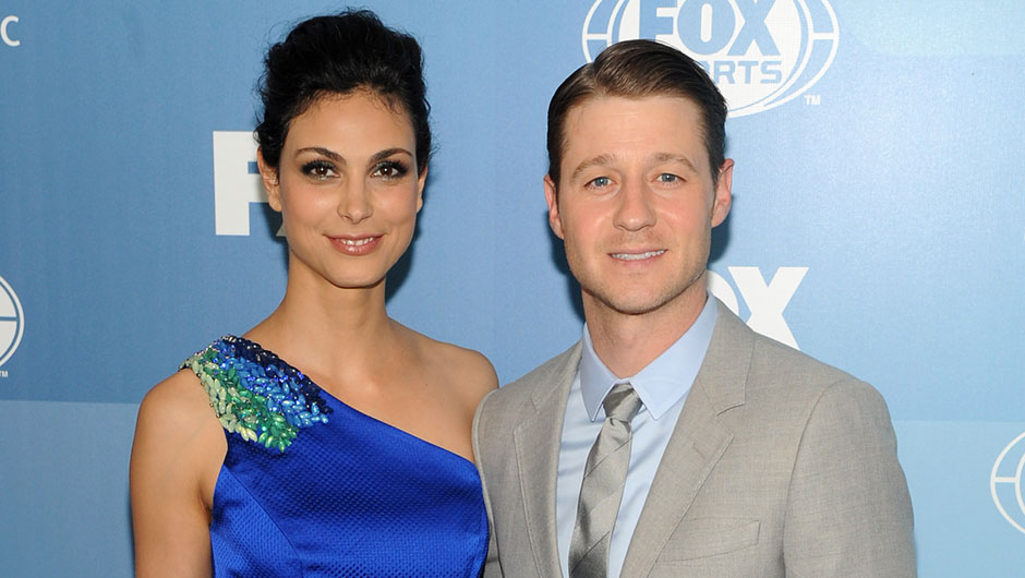 Ben McKenzie and his Gotham co-star Morena Baccarin