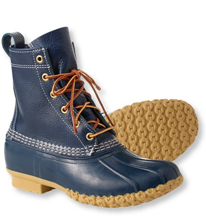 bean boots raven blue