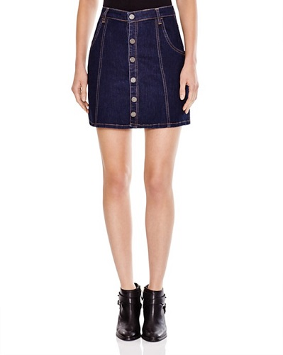 blanknyc denim skirt