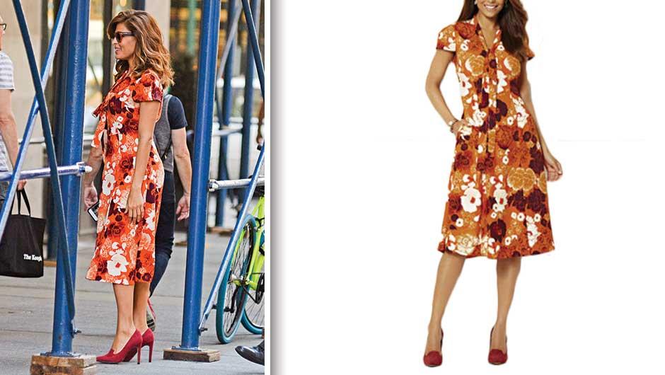 Eva Mendes Floral Dress | Eva Mendes Collection Gemma Tie-front Dress