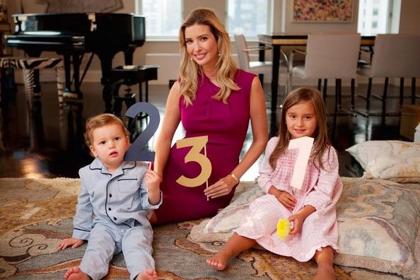 Ivanka Trump She's expecting her third child