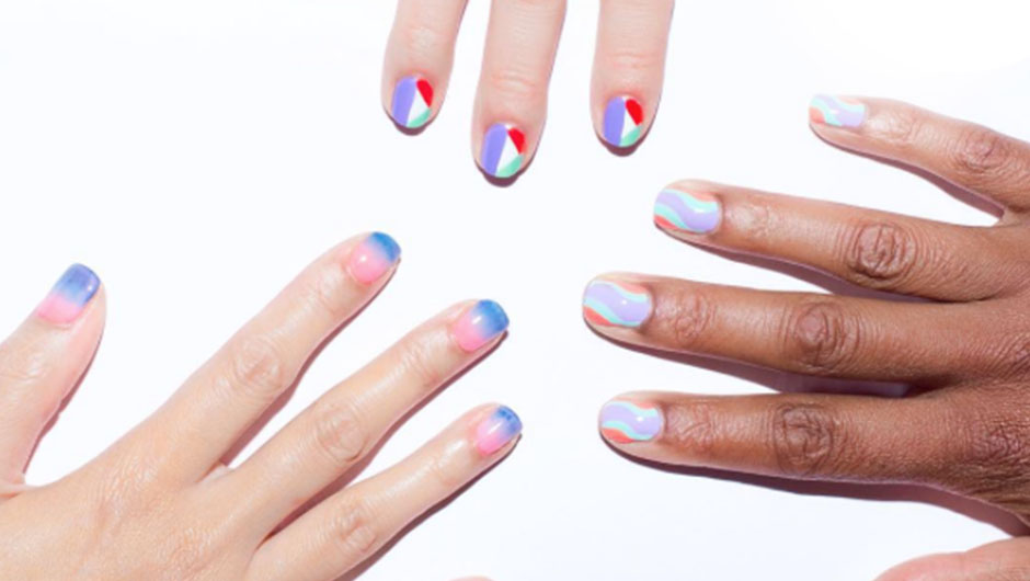 nyfw nail art spring 2016 best nail art fashion week nyfw nail art