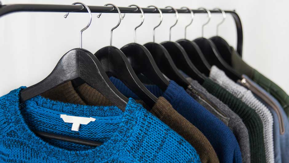 How To Prevent Hanger Bumps In The Shoulders Of Your Sweaters,,And How To  Get Rid Of Them, Too
