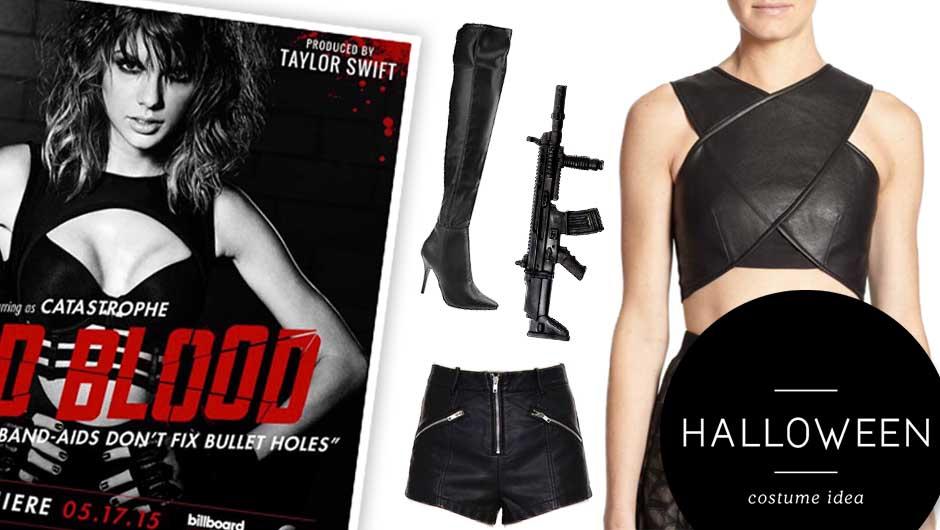bad blood halloween costume taylor swift bad blood halloween - What Was Taylor Swift For Halloween
