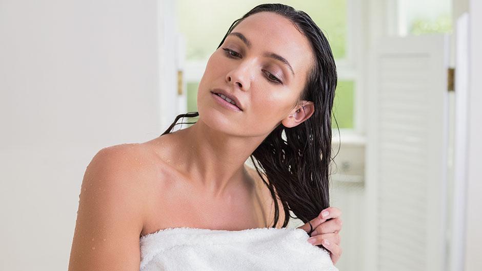 air drying vs towel drying