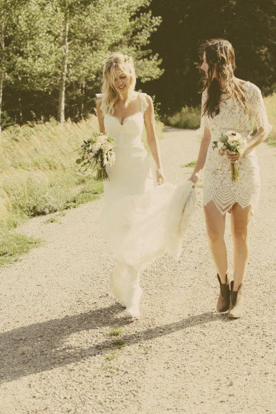 For Love Lemons Founders Gillian Rose Kern And Laura Hall On S Wedding Day