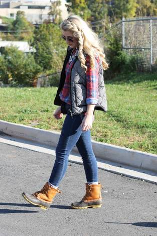 Duck Boot Outfit Ideas | How To Wear Duck Boots