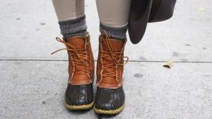 12 Cute Duck Boot Outfit Ideas You <em>Need</em> To Try This Fall And Winter