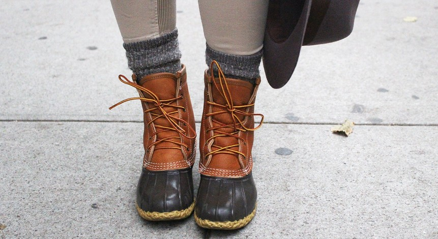 Duck Boots Fall Fashion