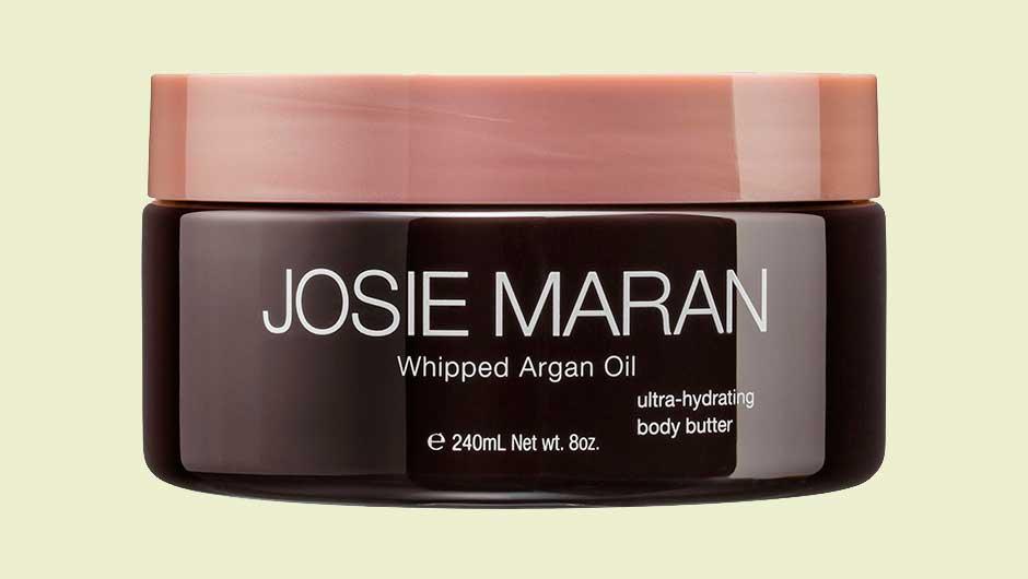 how to use josie maran whipped argan oil