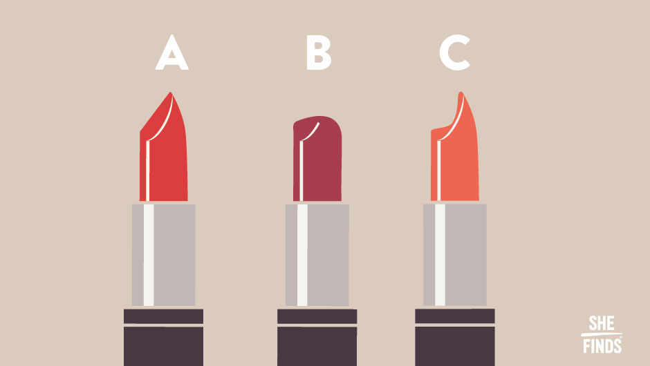 Find Out What Your Lipstick Shape Says About You