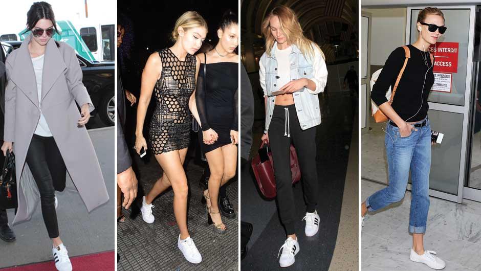 adidas superstar sneakers celebrity