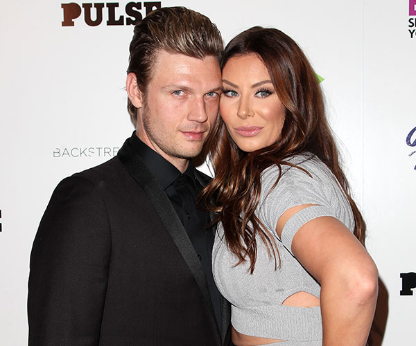Nick Carter and his wife Lauren Kitt
