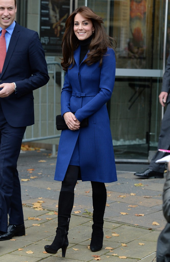 The Duke and Duchess of Cambridge visit the Dundee Rep. Theatre