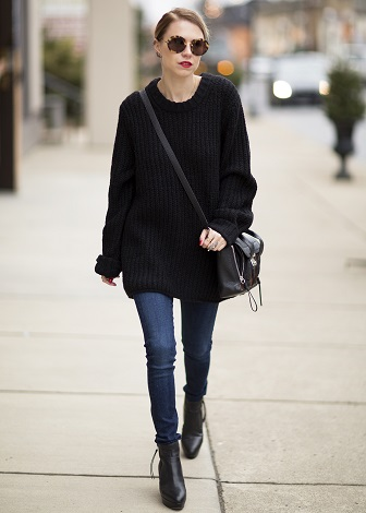 b4f965d9b8 How To Wear An Oversized Sweaters