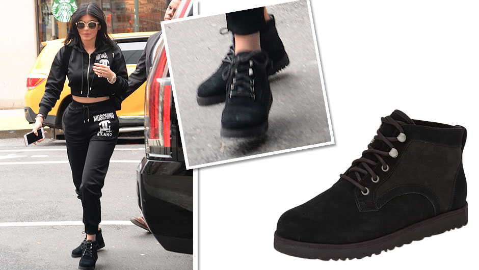 When Kylie Jenner does comfortable, she does it in style. The reality star visited the UGG store while in NYC and came out with a pair that makes us ...