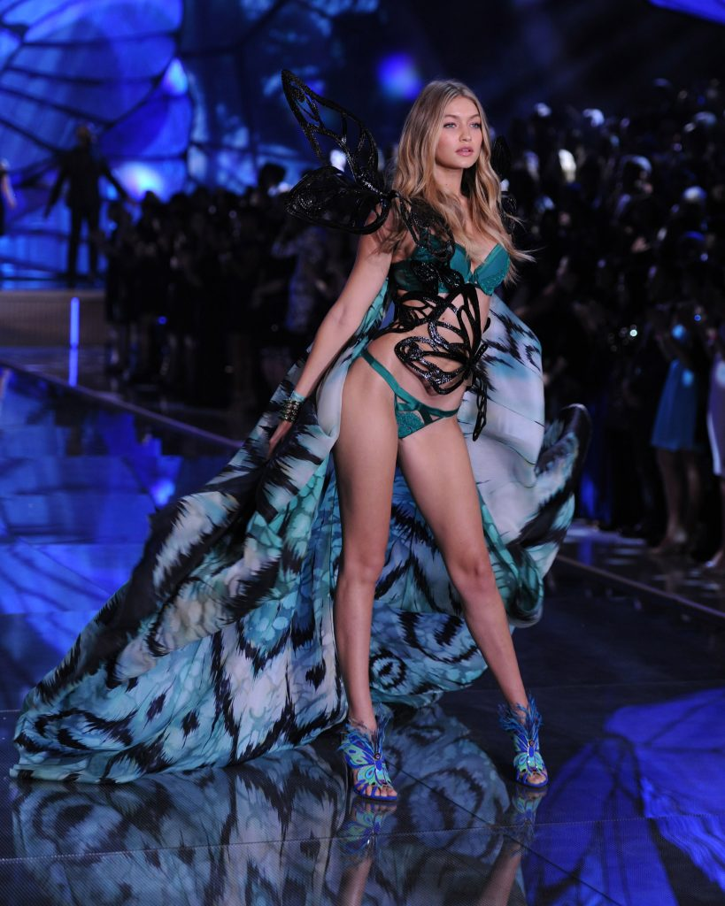 Kendall Jenner and Gigi Hadid debut in Victoria's Secret Fashion Show in NYC