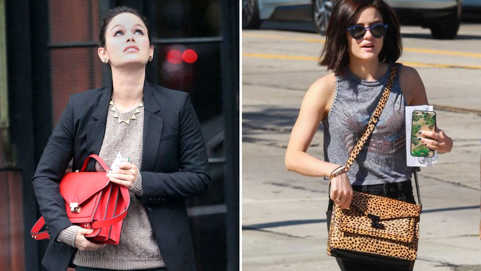 The Cult Loeffler Randall Handbag Rachel Bilson Lucy Hale Carry Is Super Right Now