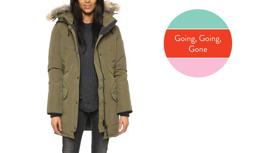 Make Sure To Get A Canada Goose Parka Before They All Sell Out Again