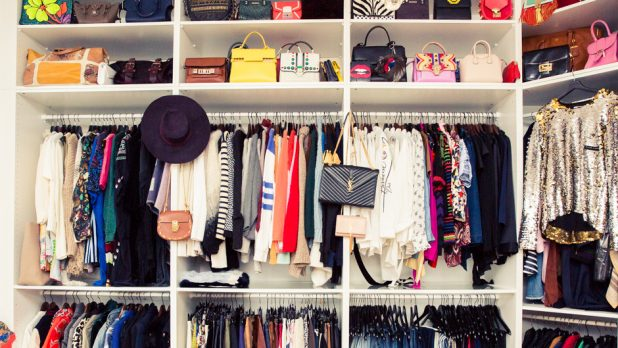 The Most Efficient Way To Hang Your Clothes In Your Closet, Once And For All