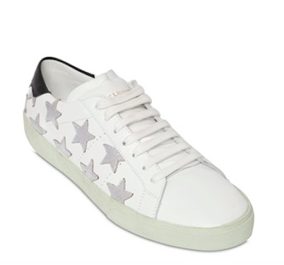 Saint Laurent Star Studded Court Sneakers TCLqqa