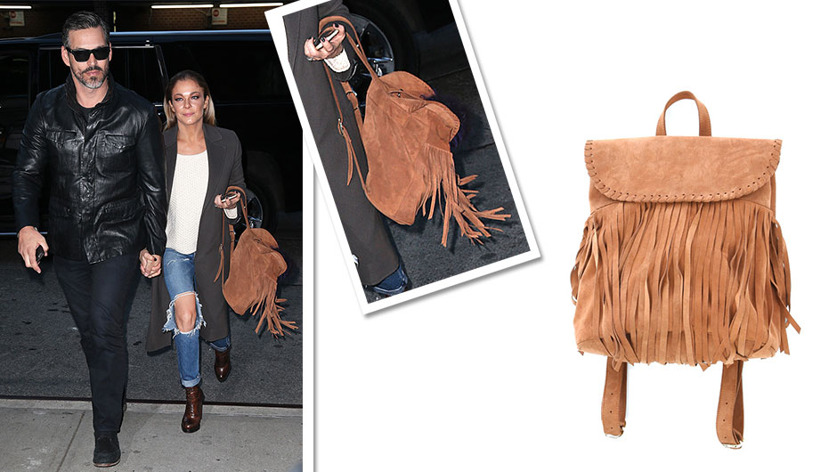 Why Bank Your Christmas Bonus When You Could Buy LeAnn Rimes' Cool Fringe Backpack