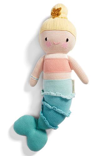 Cuddle Kind Skye The Mermaid Knit Doll
