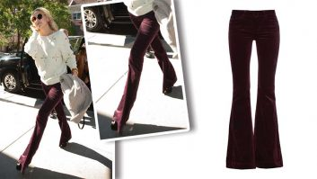 Channel Your Inner 70s Siren In Kate Hudson's Fabulously Flared Velvet Jeans