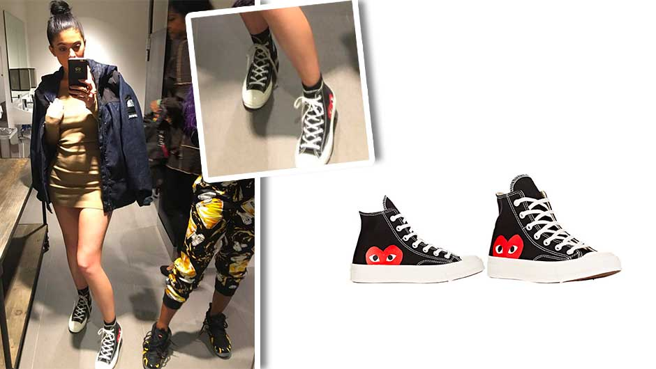 Chuck Taylor High Top Sneakers Comme Des Garçons Discount Very Cheap Zke5gc