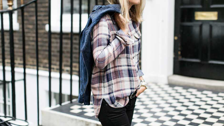 623fc250e30bf6 5 Ways To Wear A Plaid Shirt (You Can t Go Wrong No Matter How You Do It)