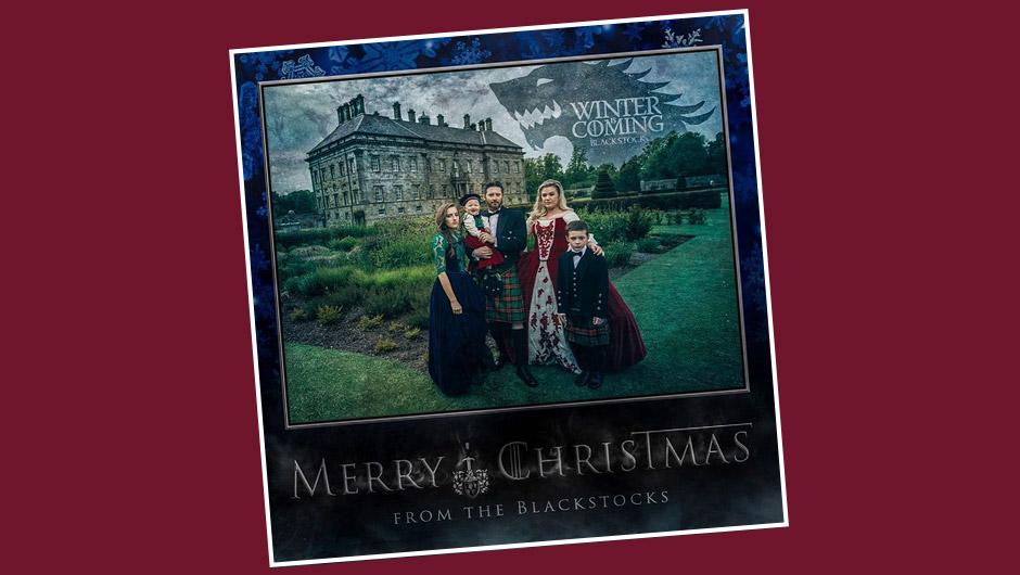 Celebrity Christmas Cards 2015