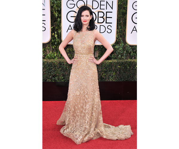 Eva Green in this Elie Saab gown.