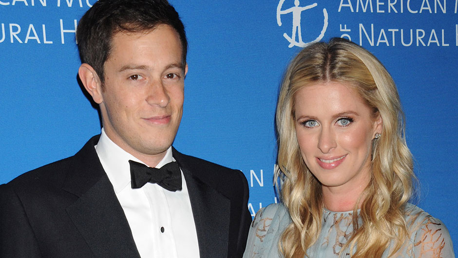 James Rothschild and Nicky Hilton After their First Child