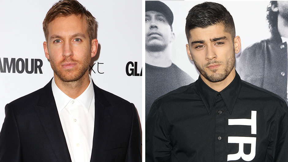 Zayn Malik and Calvin Harris Twitter Feud
