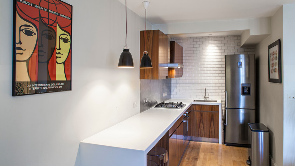 How To Design A Small Kitchen | Organizing Compact Kitchens ...