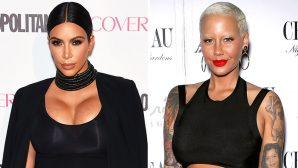 PHOTO: Kim Kardashian & Amber Rose Hang Out After Kanye's Epic Twitter Rant