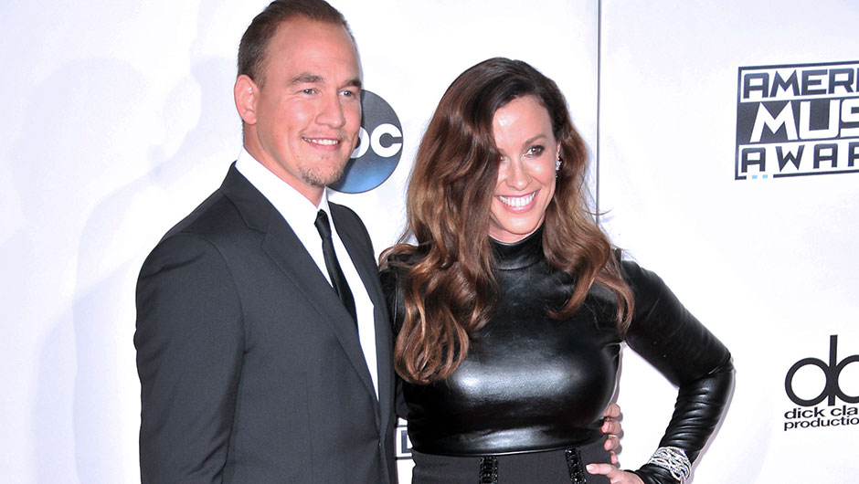 Alanis Morissette with her Husband Mario Souleye Treadway