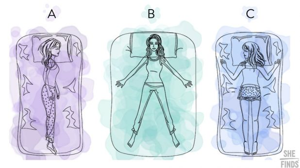 Find Out What Your Sleep Position Says About You