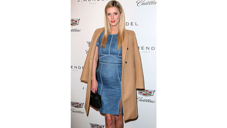Nicky Hilton Shows Off Her Baby Bump at New York Fashion Week